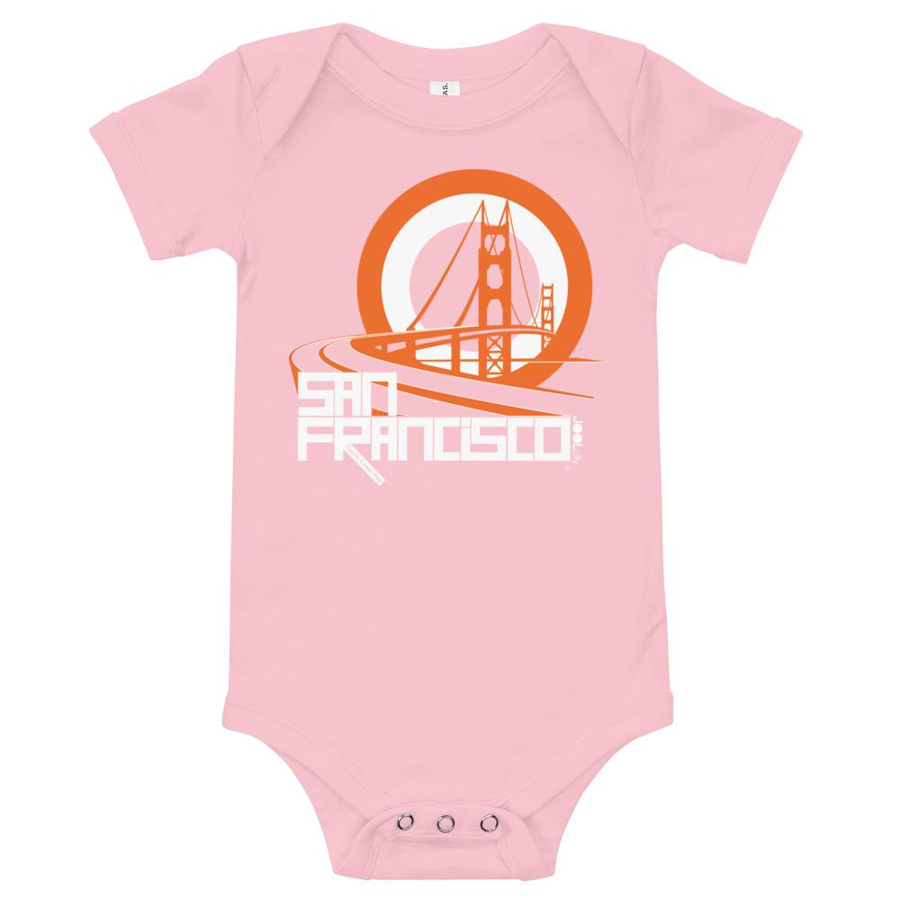 San Francisco Golden Gate Groove Baby Onesie