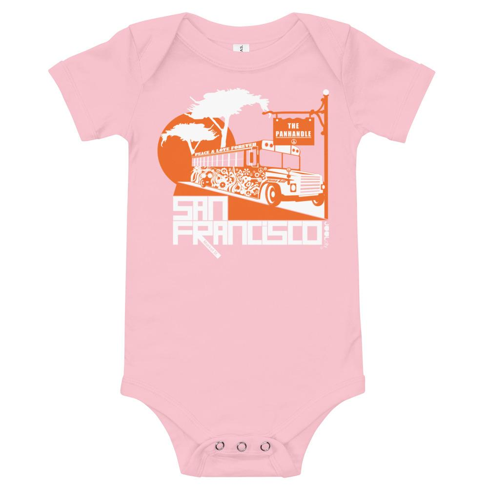 San Francisco Blissful Bus Baby Onesie