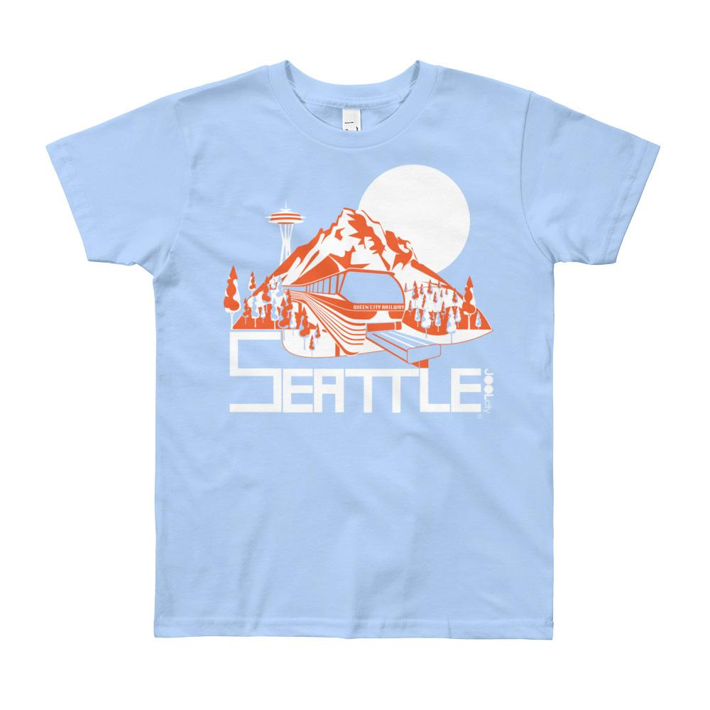 Seattle Mountain Monorail Youth Short Sleeve T-Shirt