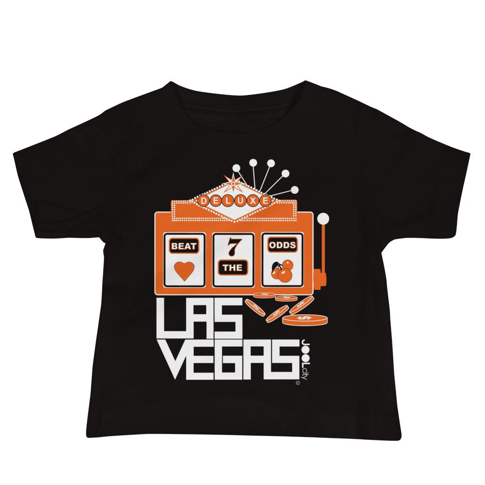 Las Vegas Beat the Odds Baby Jersey Short Sleeve Tee T-Shirts Black / 18-24m designed by JOOLcity