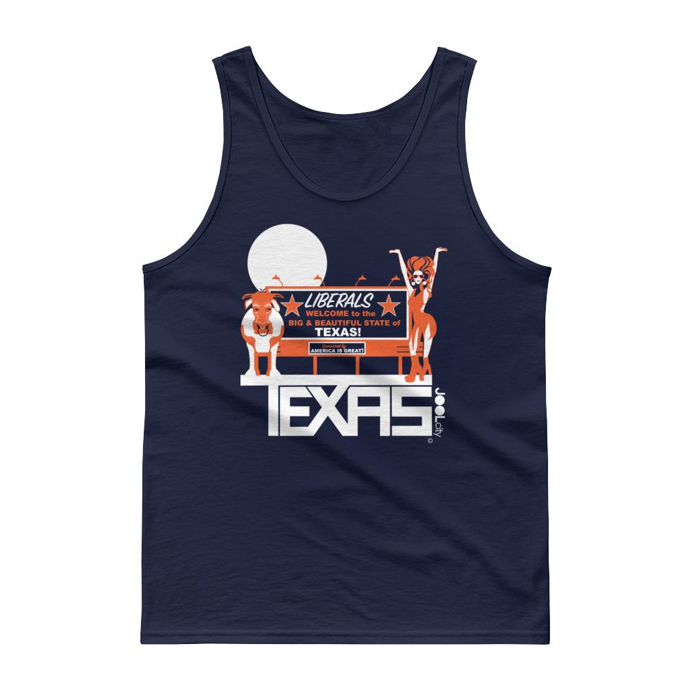 Texas Liberal Love Men's Tank Top