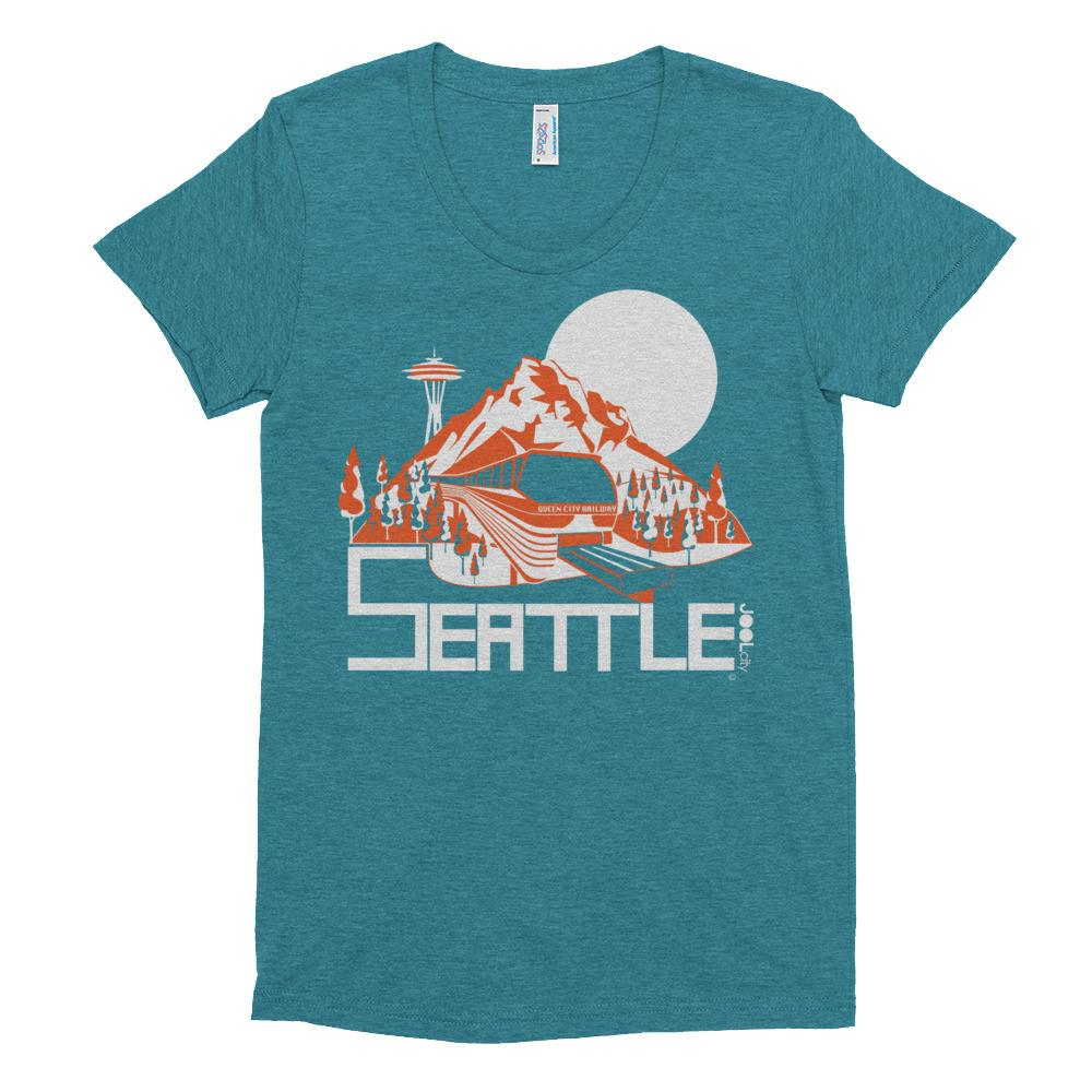 Seattle Mountain Monorail Women's Crew Neck T-shirt