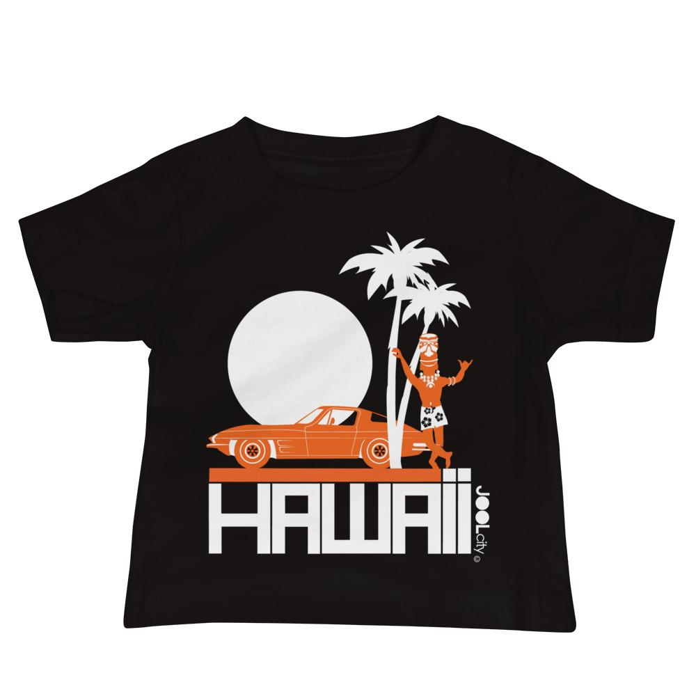 Hawii Tiki Guy Ride Baby Jersey Short Sleeve Tee T-Shirts Black / 18-24m designed by JOOLcity