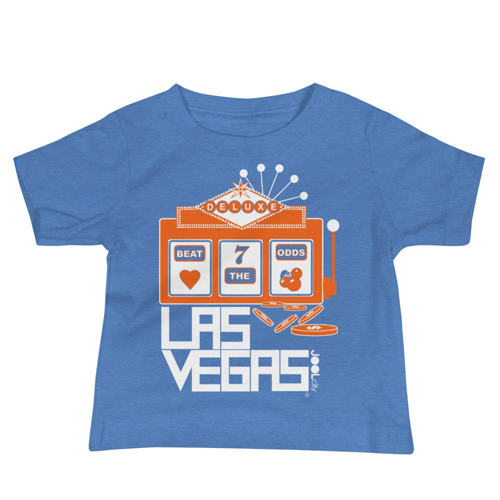 Las Vegas Beat the Odds Baby Jersey Short Sleeve Tee T-Shirts Heather Columbia Blue / 18-24m designed by JOOLcity
