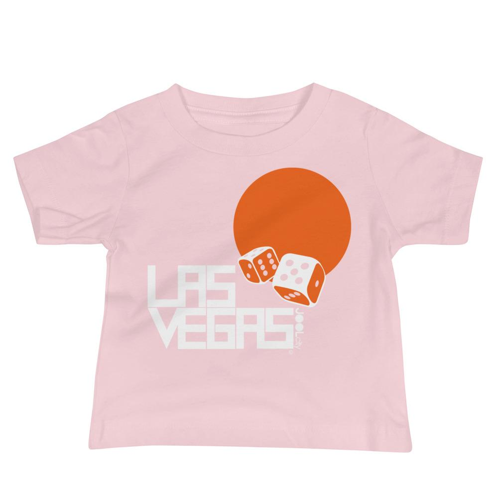 Las Vegas Dice Roll Baby Jersey Short Sleeve Tee T-Shirts Pink / 18-24m designed by JOOLcity
