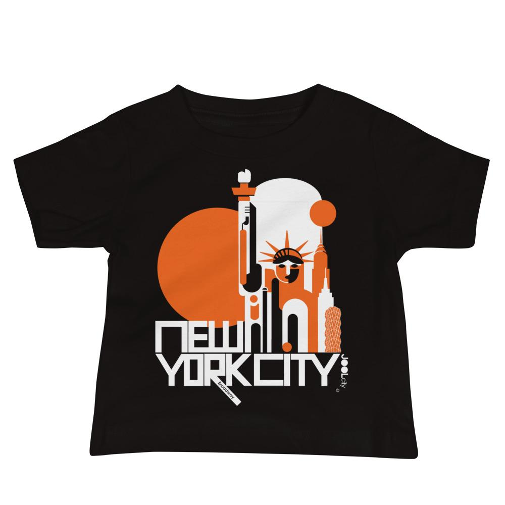 New York Lady Liberty Baby Jersey Short Sleeve Tee