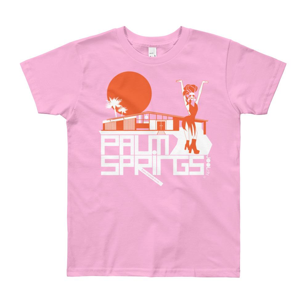 Palms Springs Glam Girl House Youth Short Sleeve T-Shirt
