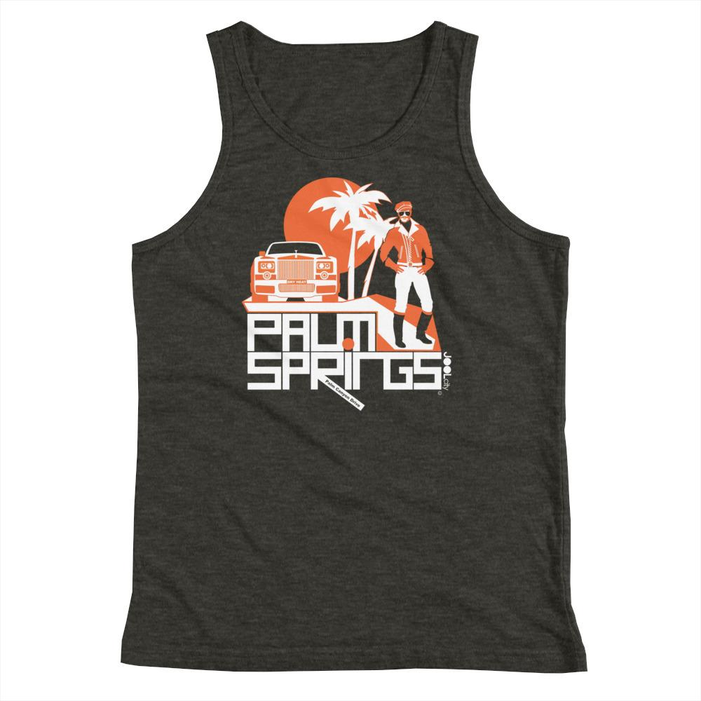 Palm Springs Rolling Pose Youth Tank Top