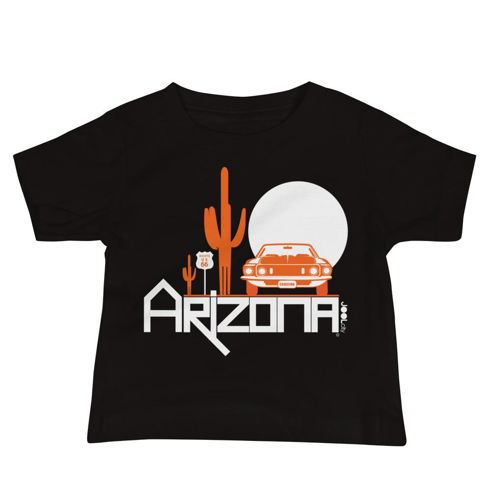 Arizona Cactus Cruise Baby Jersey Short Sleeve Tee T-Shirts Black / 18-24m designed by JOOLcity