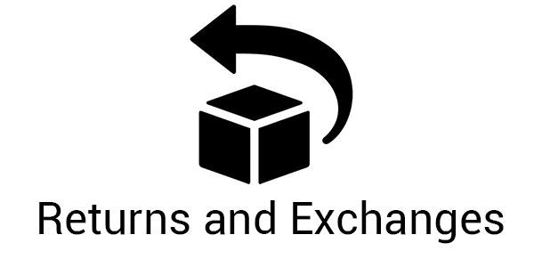 returns and exchanges button