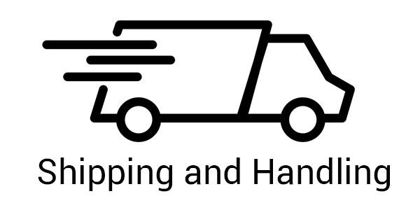 shipping and handling button