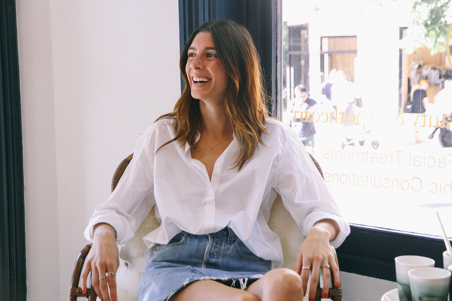 Maniamania fine jewellery In Conversation with Fay Halkitis Luna Beauty and Apothecary