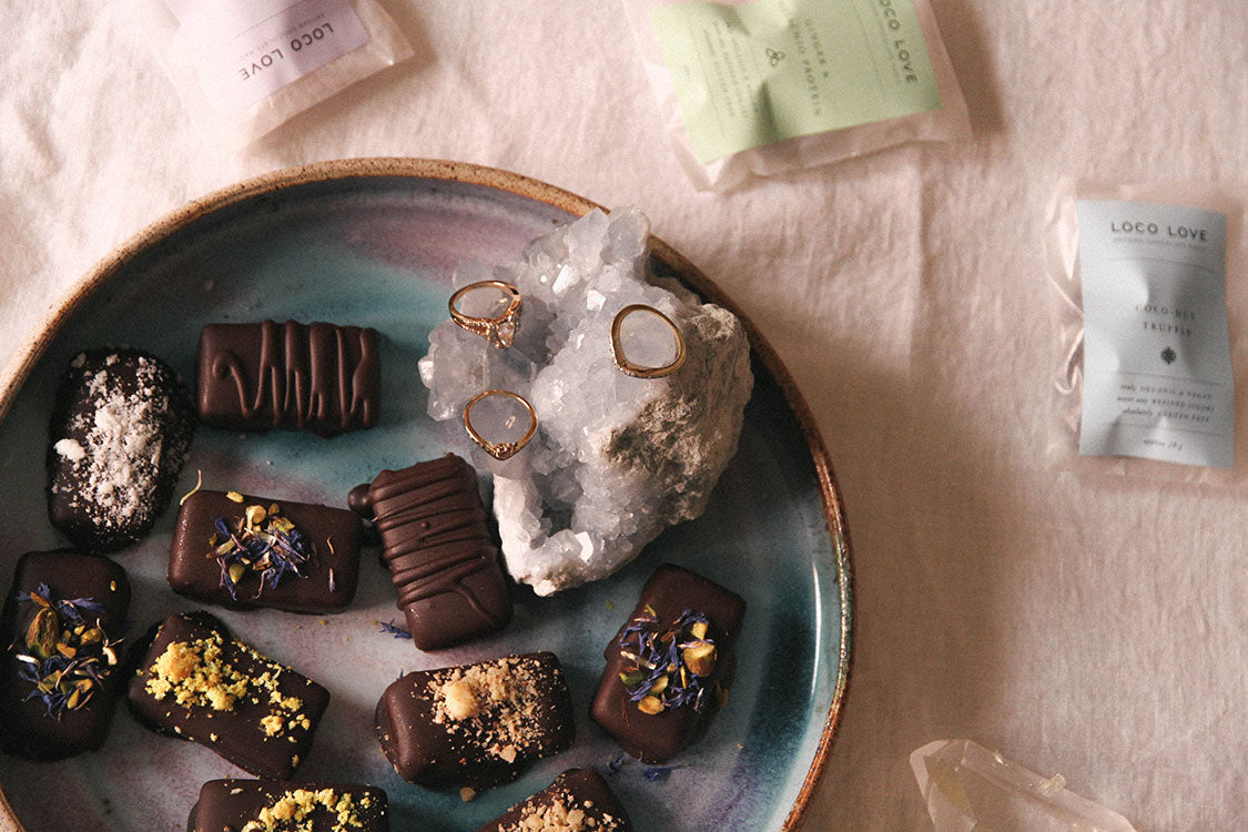 Maniamania fine jewellery In Conversation with Emica Penklis Loco Love chocolates