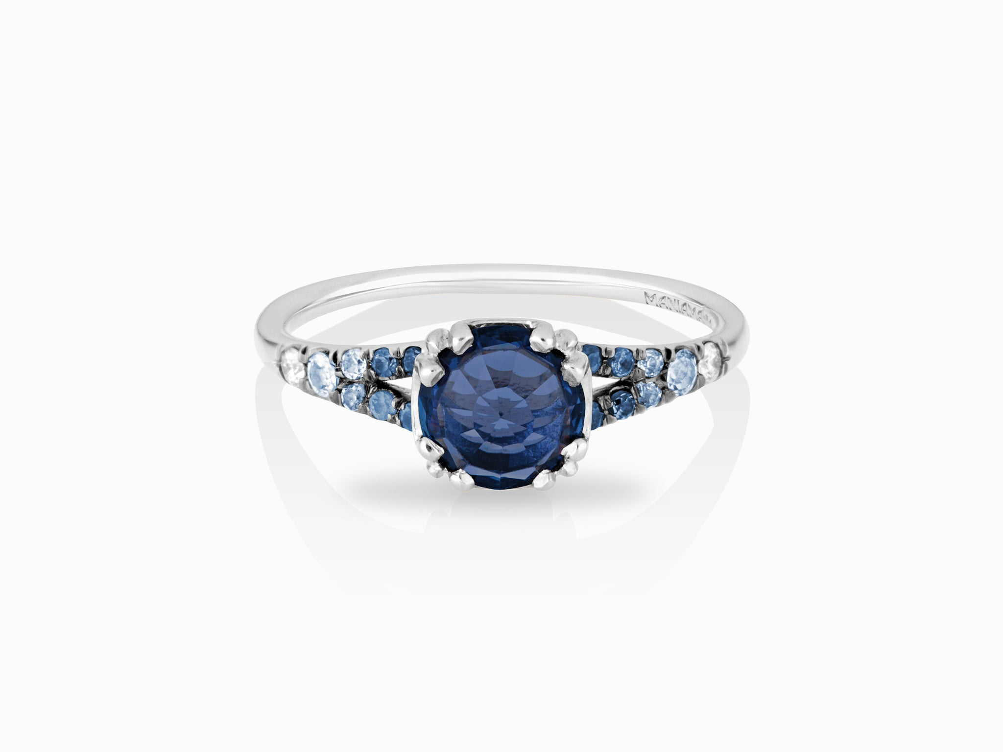 halo in sapphire rings dark and ring ct athelred com stone blue jones engagement diamond