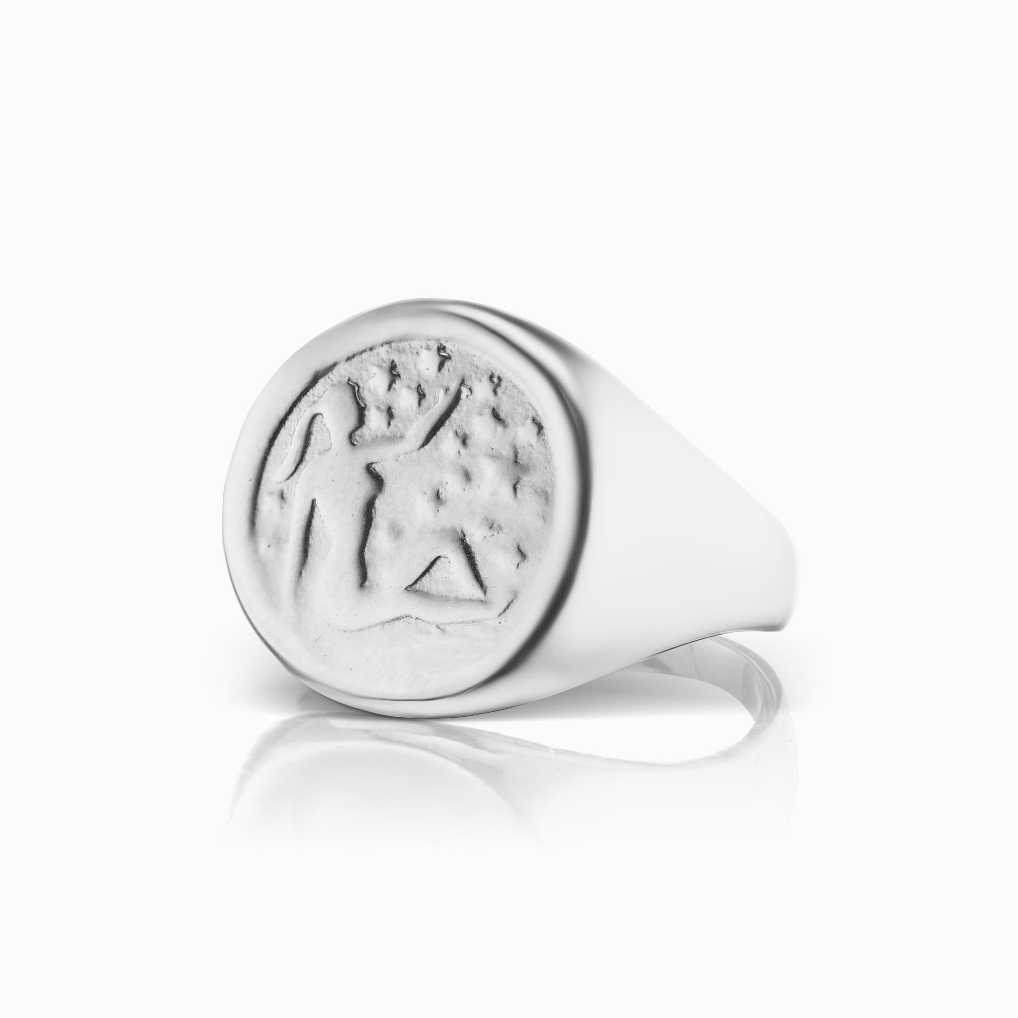 Zodiac Signet Ring - Virgo
