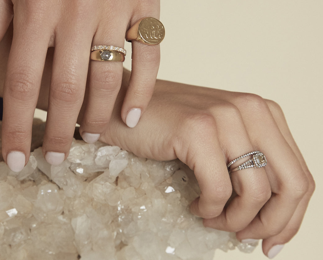 Statement Rings.
