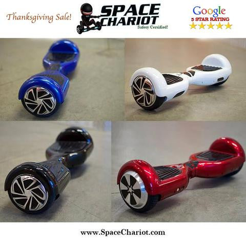 The Space Chariot Thanksgiving Hoverboard Sale! $199.99 !