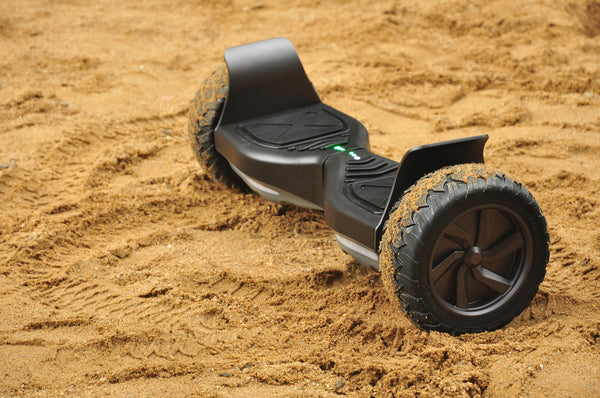 All Terrain Hoverboard (with mud tires) - 'Space Black' - Space Chariot