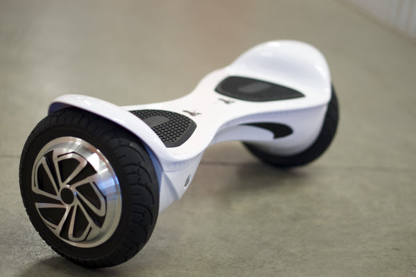 Space Chariot Hoverboard White