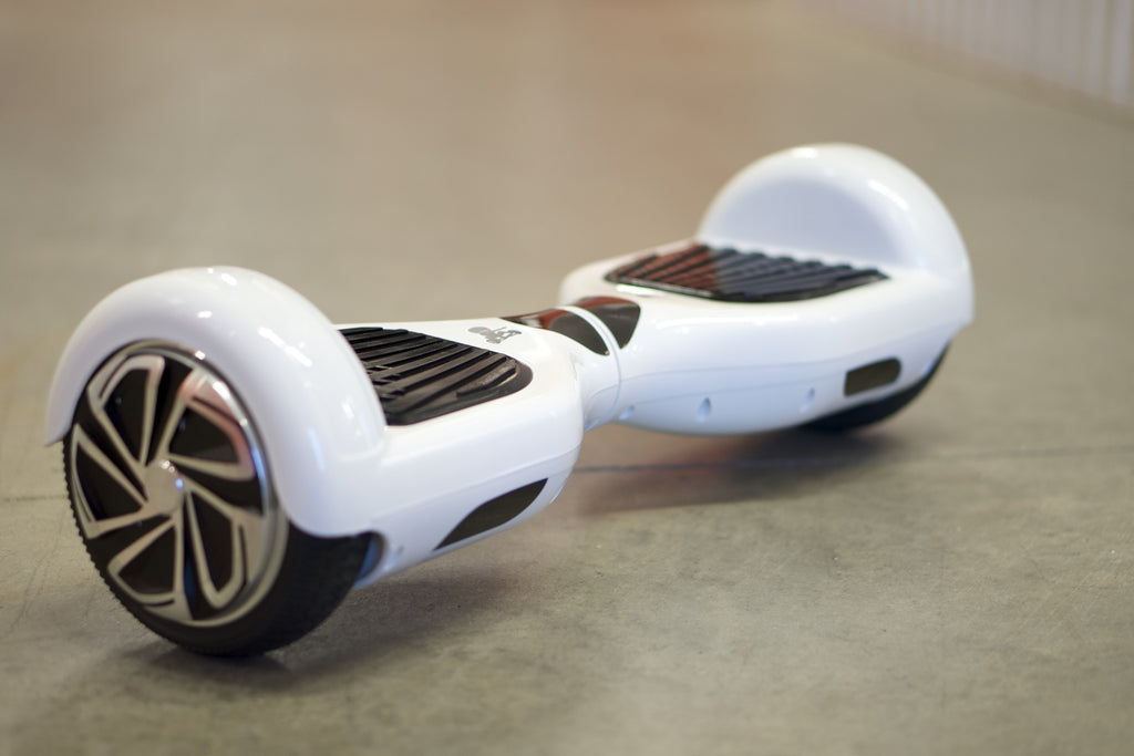 Original Hoverboard - 'Arctic White' - Space Chariot