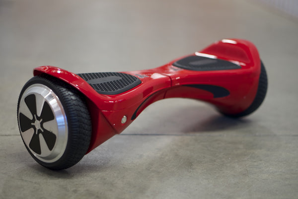 "Hoverboard w/ Bluetooth - 'Meteor Red' (10"" Wheels) - Space Chariot"