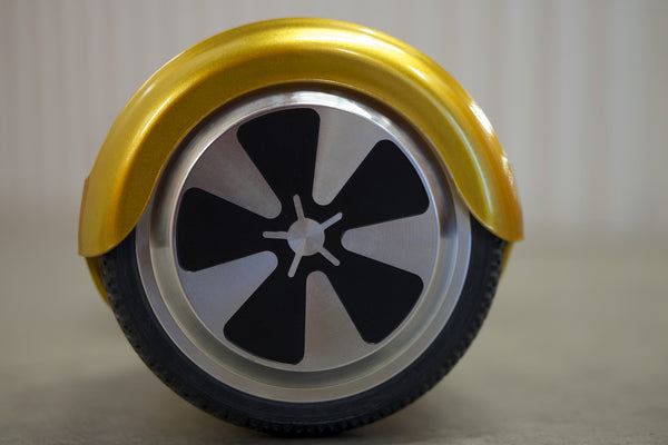 Gold Space Chariot Hoverboard wheel