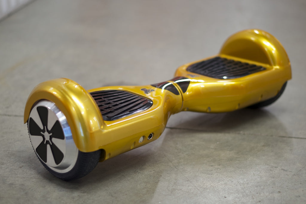 Original Hoverboard - 'Gold' with bluetooth, Samsung Battery Inside, and Remote Control - Space Chariot