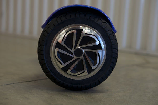 "Hoverboard w/ bluetooth - 'Galaxy Blue' (10"" Wheels) - Space Chariot"