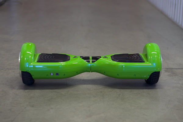 Original Hoverboard - 'Alien Green' with Bluetooth, Samsung battery, and remote - Space Chariot