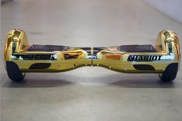 Gold Chrome Hoverboard