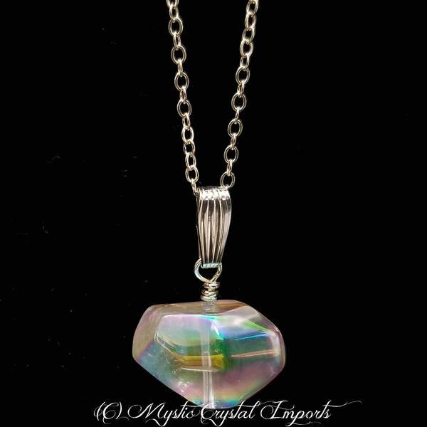 Angel Aura Quartz Jewelry