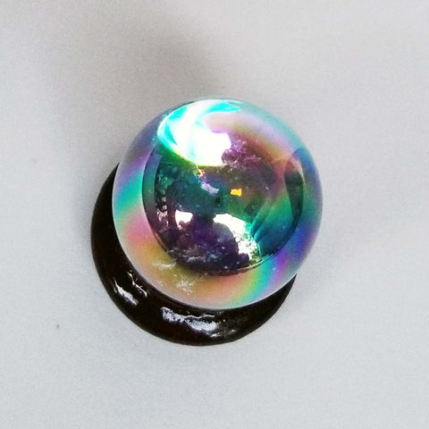 Angel Aura Quartz Crystal Sphere by Mystic Crystal Imports - 22mm