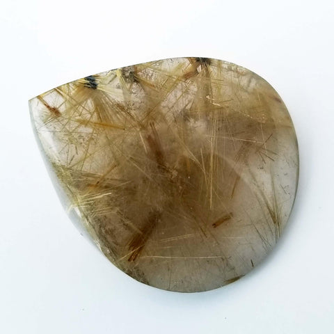 Golden Rutilated Quartz Crystal Tear Drop - Extra Fine 218C