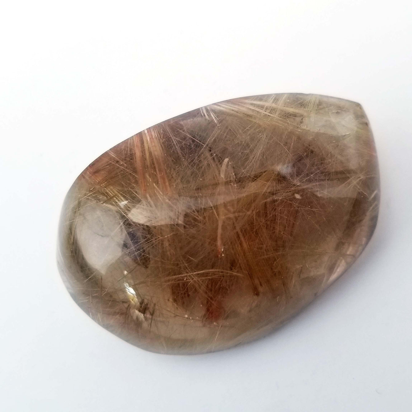 Golden Rutilated Quartz Crystal  - Extra Fine, 436 Carots