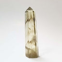 Super Clear Citrine Point with Smoky Phantoms - 4