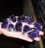 2 Day Flash Sale! - Deeep Purple Amethyst Cluster(s) - Small, Uruguayan Extra Fine