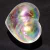 Large Angel Aura Quartz Crystal Puffed Heart - Rare!