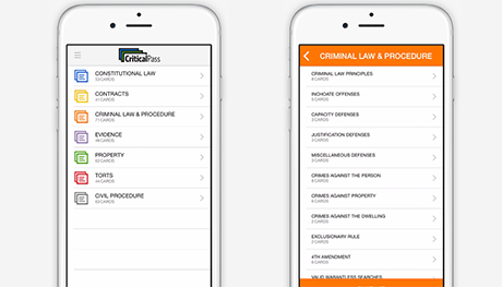critical pass mobile app