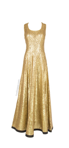 Golden Sequins Anarkali
