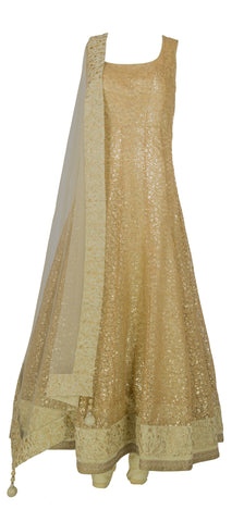 Regal Bronze Anarkali