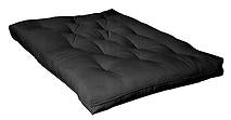 winnipeg futon black comfort pocket coil