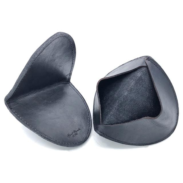 Leather Oven Mitts - Set of Two