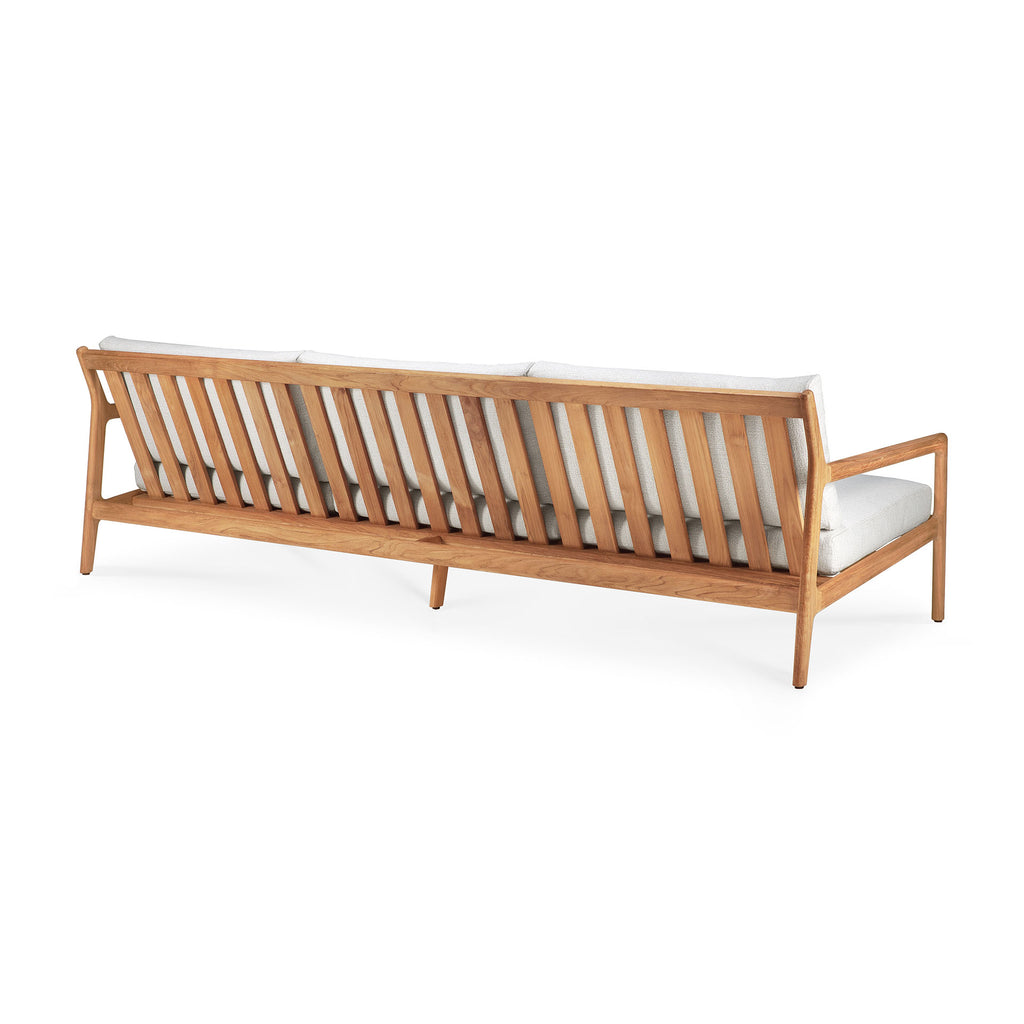 Teak Jack Outdoor Sofa - Off White