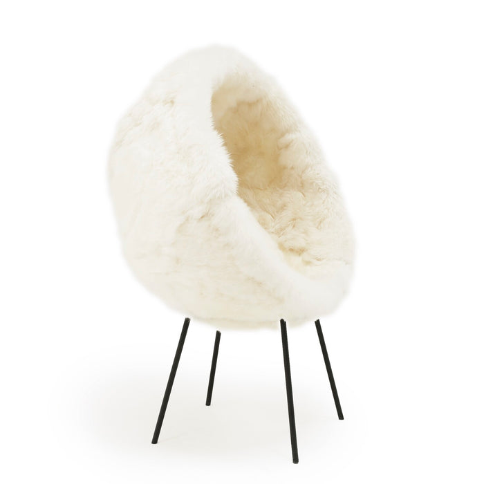 Parisian Alpaca Cocoon Chair