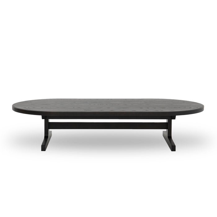 I-Beam Oval Coffee Table