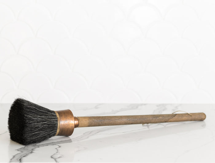 OVERSIZED ANTIQUE FRENCH PAINT BRUSH