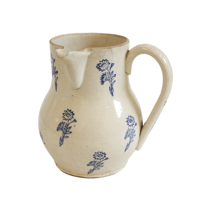 Antique French Flower Pitcher