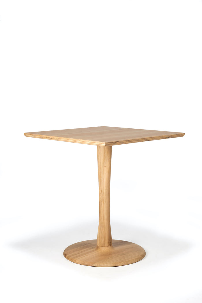 Oak Torsion Square Dining Table | Ethnicraft