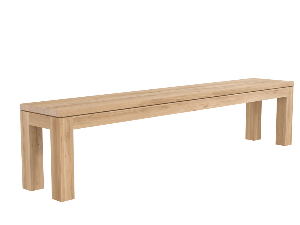 Oak Straight Bench- Ethnicraft