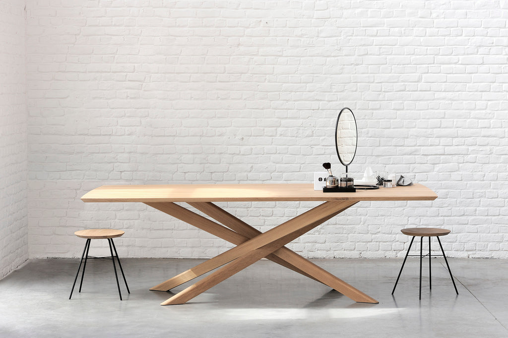 Oak Mikado Dining Table - Ethnicraft